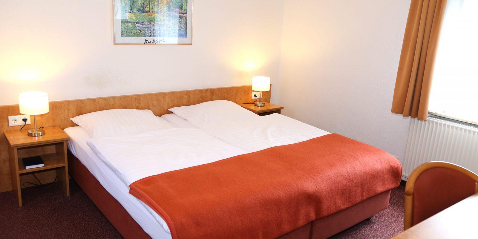 Hotel Bonn Doppelzimmer Bett