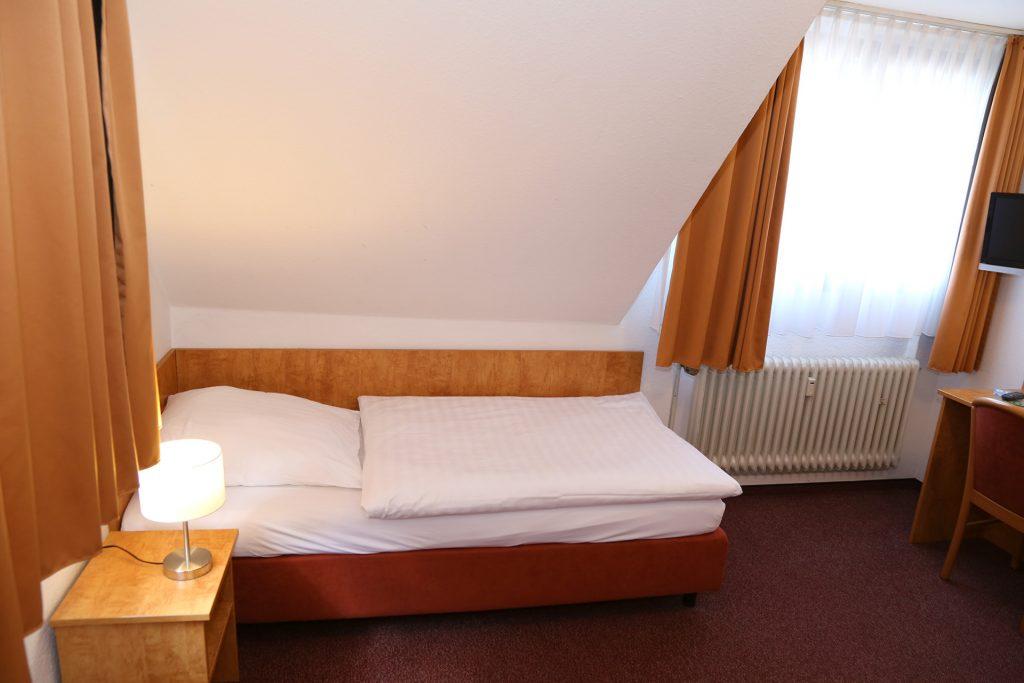 Standard Einzelzimmer im Hotel Kluth in Bonn