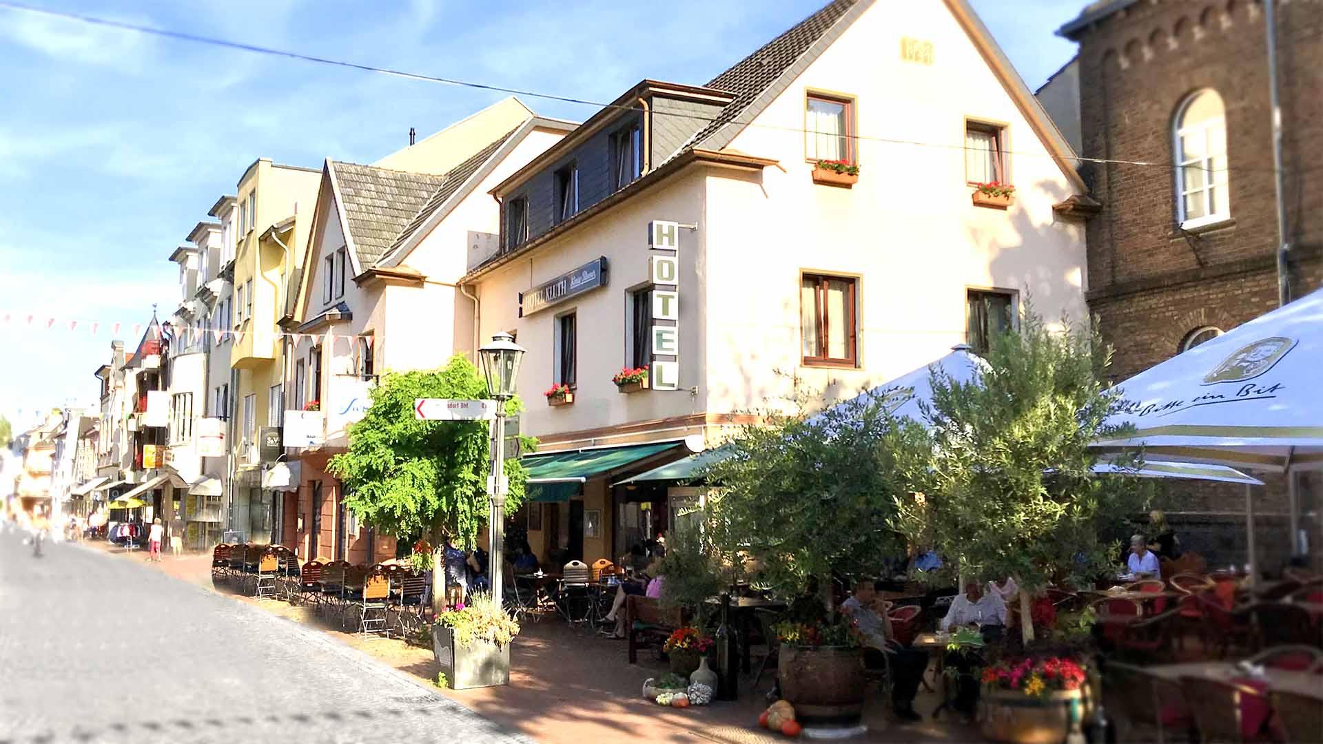 Ihr günstiges Hotel in Bonn Duisdorf Garni Kluth